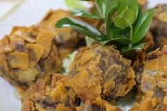 Polpette di Pecora in crosta di Carasau
